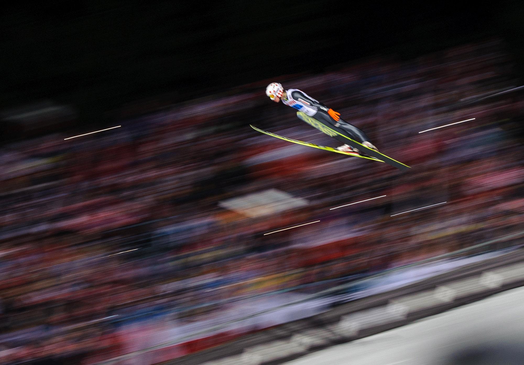 18.01.2014 Puchar Świata w skokach narciarskich w Zakopanem