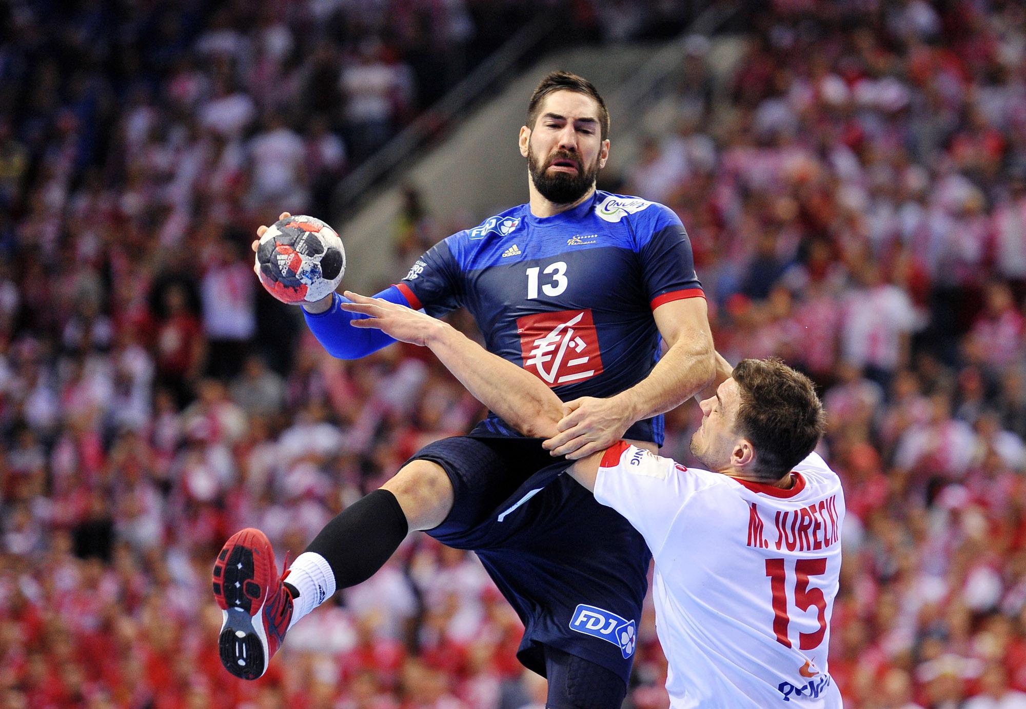 65f2bd066 ... 2016.01.19 Kraków. EHF Euro 2016. Mecz Polska - Francja. Na zdjęciu