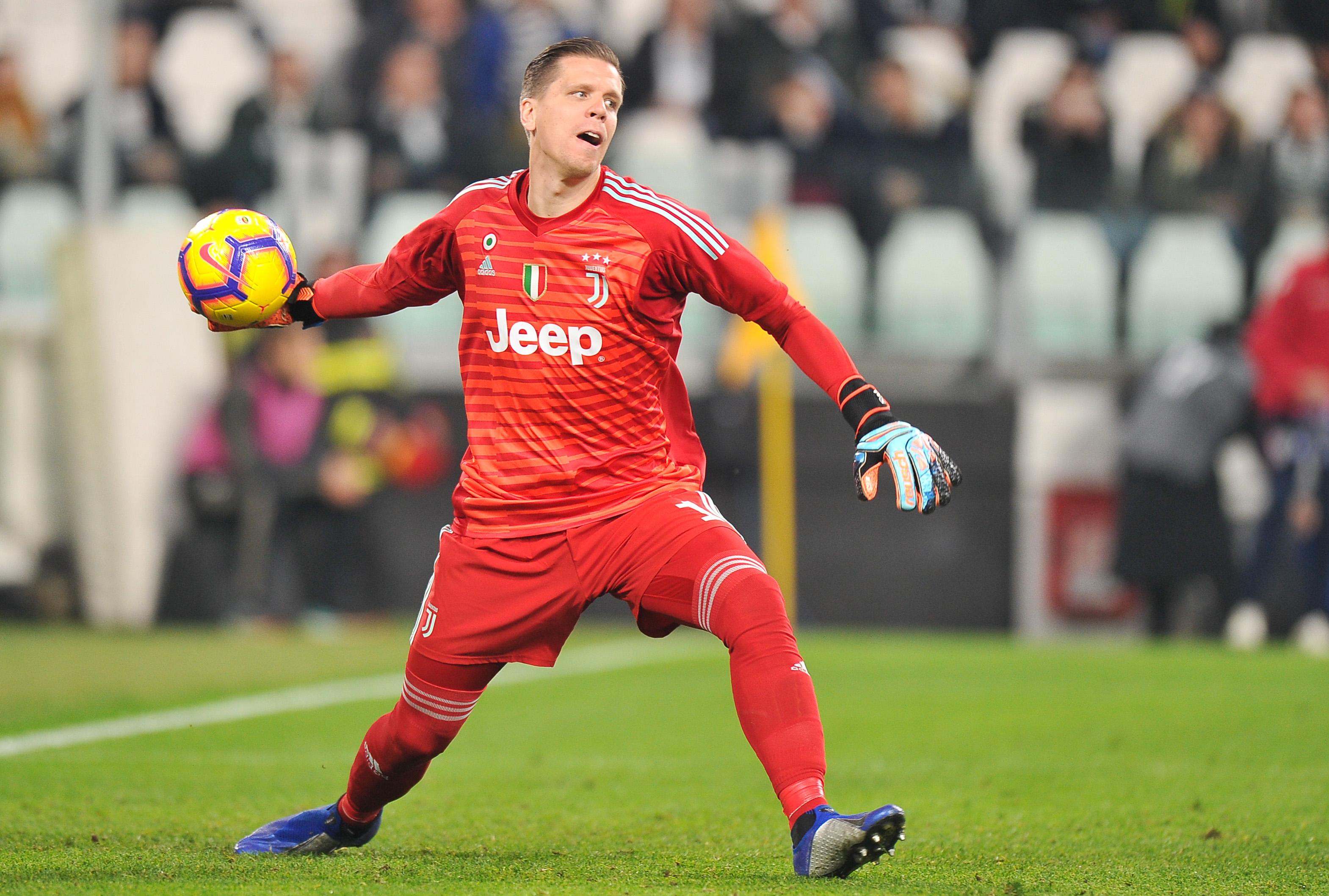 2018.11.03, Turyn, Pilka nozn, Seria A 2018/2019, Juventus Turyn - Cagliari Calcio N/z: Wojciech Szczesny, Foto Norbert Barczyk / Press Focus