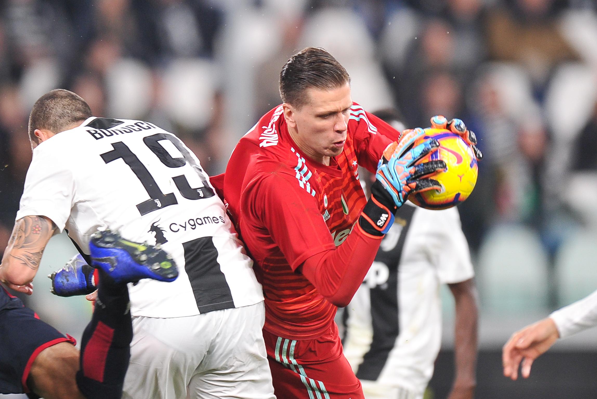 2018.11.03, Turyn, Pilka nozna,  Seria A 2018/2019, Juventus Turyn - Cagliari Calcio N/z: Wojciech Szczesny, Foto Norbert Barczyk / Press Focus