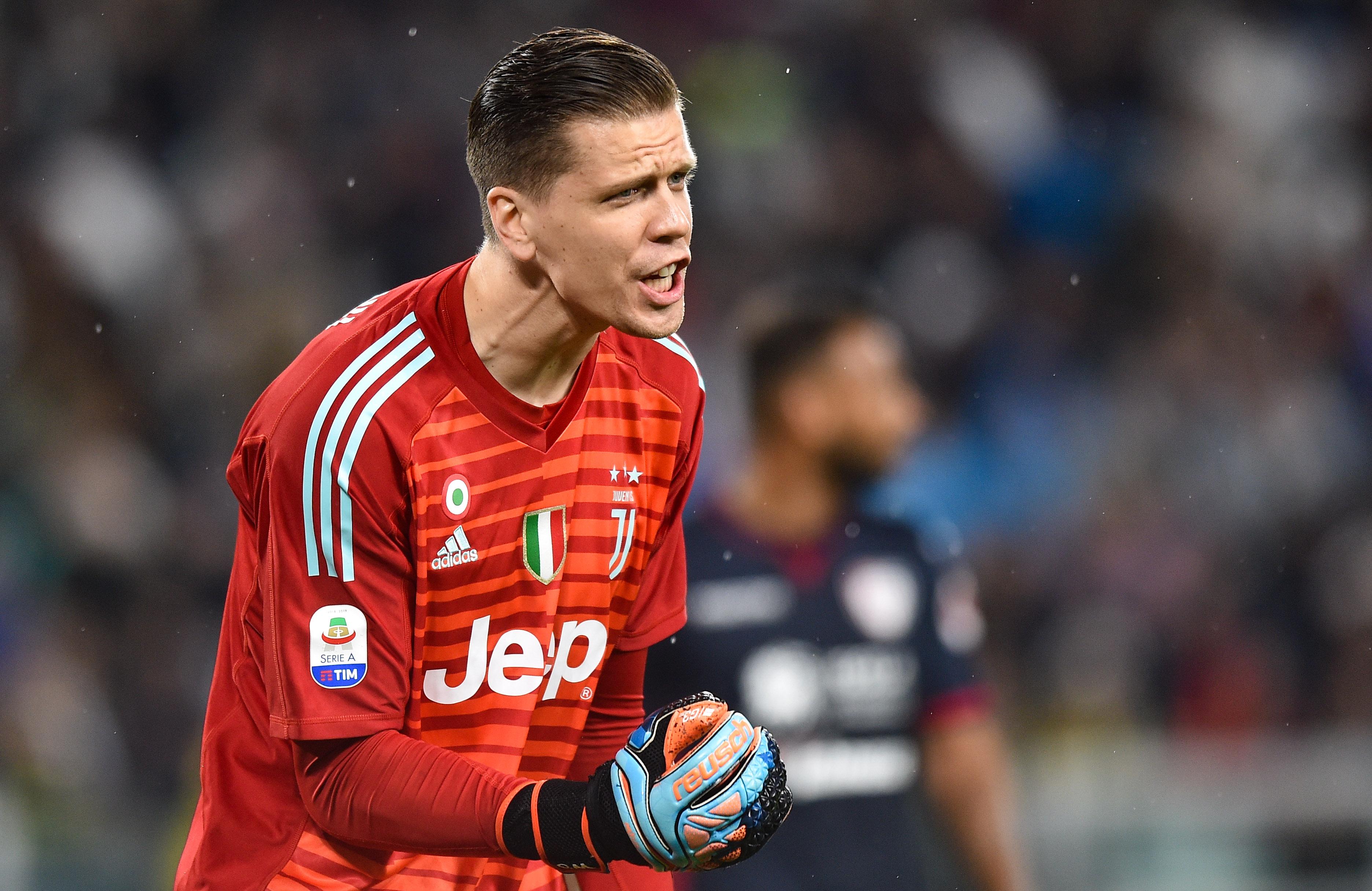 2018.11.03, Turyn, Seria A 2018/2019, Juventus Turyn - Cagliari Calcio N/z: Wojciech Szczesny, Foto Lukasz Laskowski / Press Focus