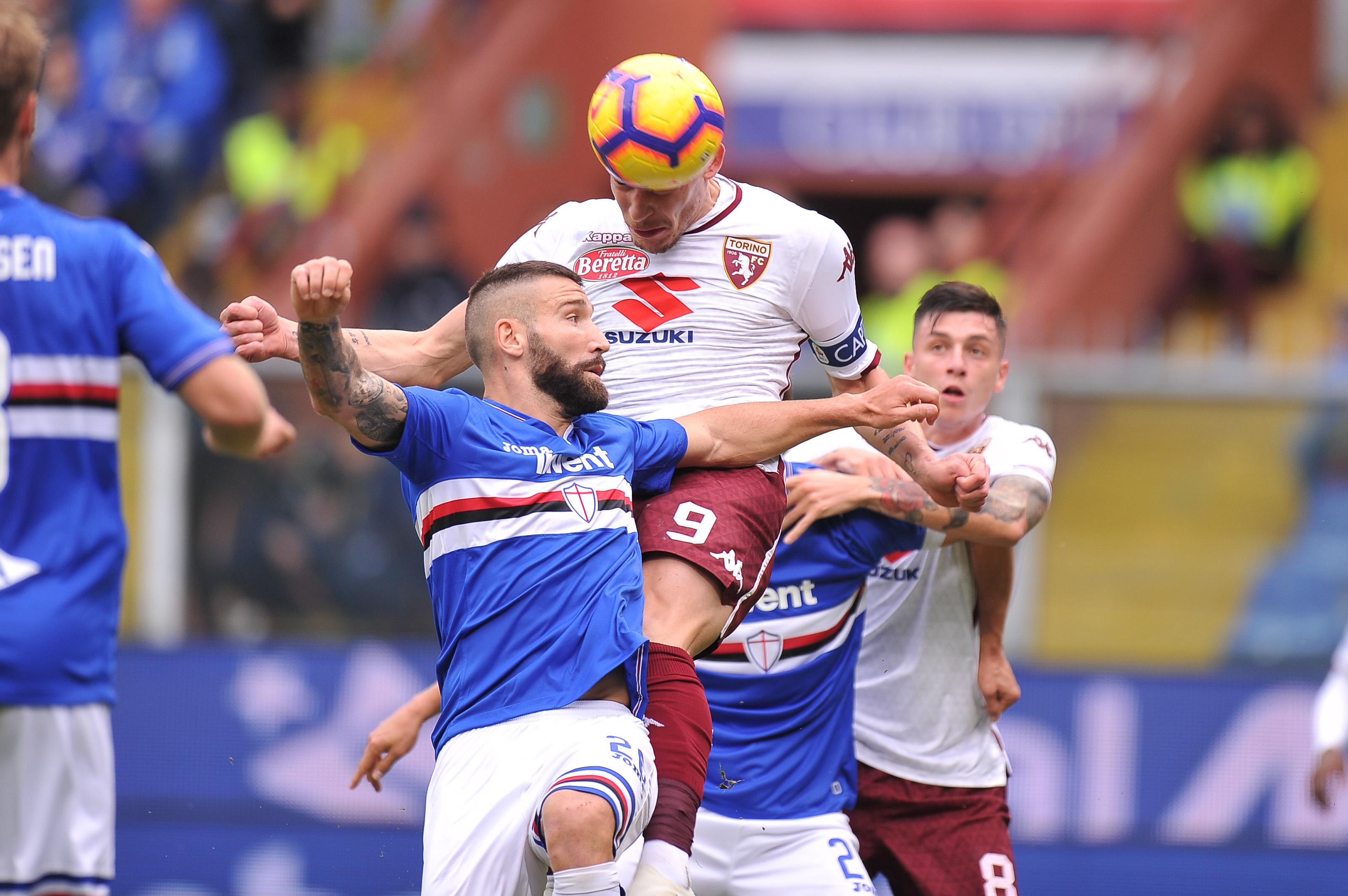 04.11.2018, Genua, Serie A 2018/2019, Sampdoria Genua - Torino FC N/z: Andrea Belotti, Foto Norbert Barczyk / PressFocus