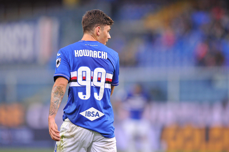 04.11.2018, Genua, Serie A 2018/2019, Sampdoria Genua - Torino FC N/z: Dawid Kownacki, Foto Norbert Barczyk / PressFocus