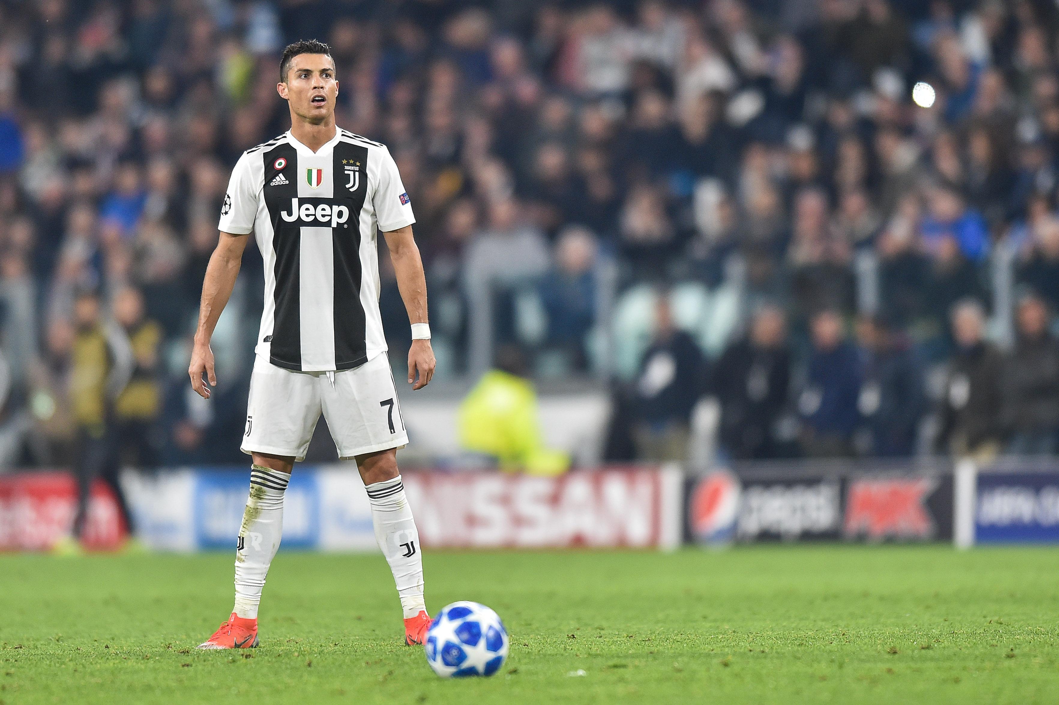 2018.11.07 Turyn, Liga Mistrzow 2018/2019, Juventus Turyn - Manchester United N/z: Cristiano Ronaldo, Foto Lukasz Laskowski / PressFocus