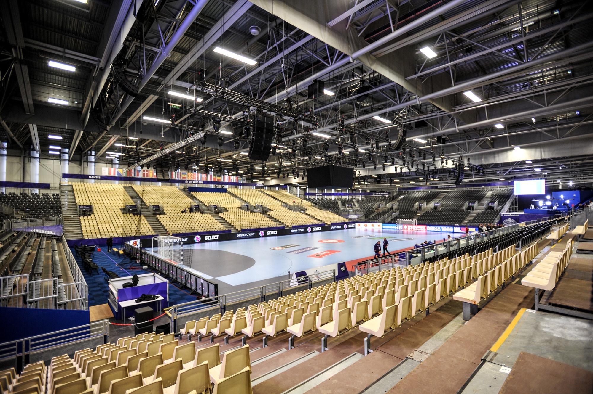 Hala XXL w Nantes dzien przed Euro 2018