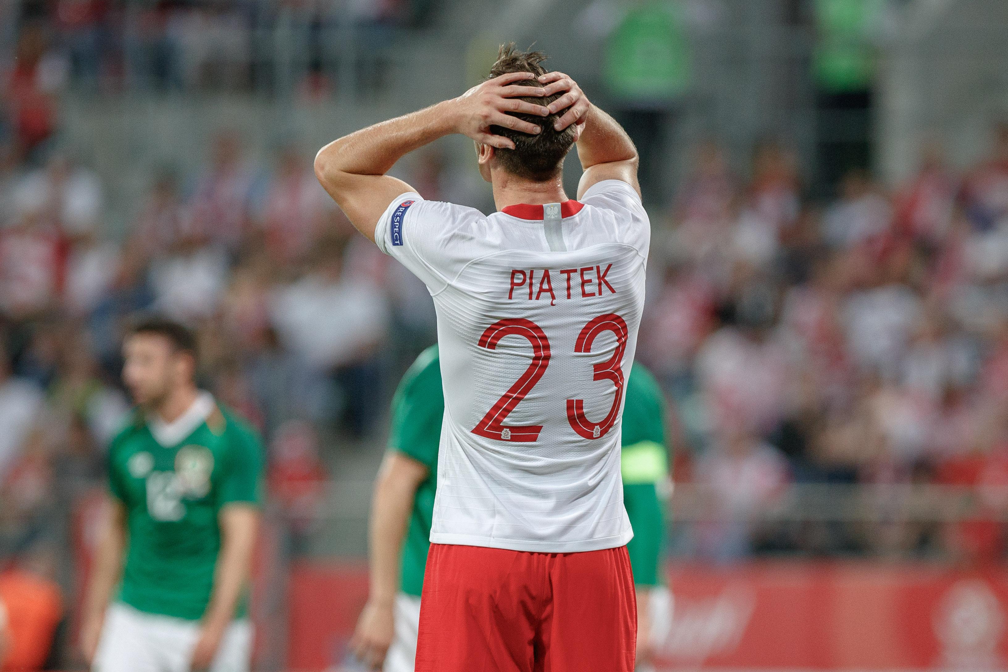 2018.09.11 Wroclaw , Pilka nozna , mecz towarzyski, Polska - Irlandia N/z Krzysztof Piatek, Foto Tomasz Folta / PressFocus