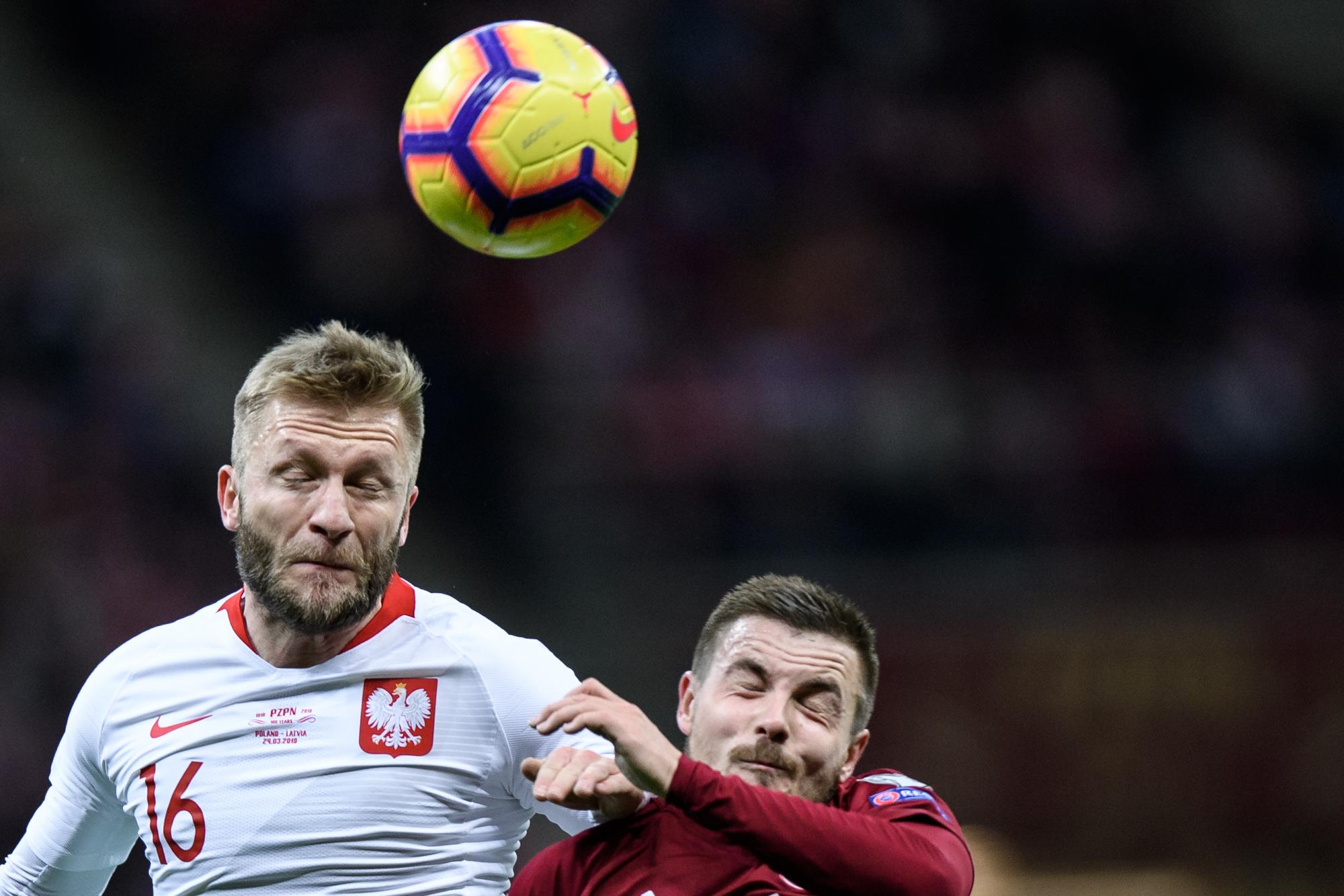 Mecz Polska - Lotwa